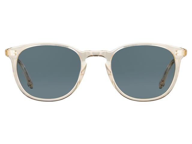 Garrett Leight - Kinney 49 Champagne-Blue Smoke Polar