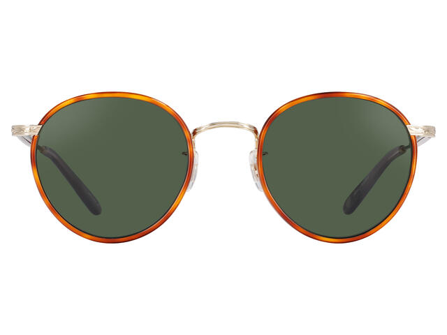 Garrett Leight - Wilson 49 Butterscotch Tortoise-Gold-Dark Honey Tortoise-Pure G15